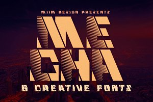 Mecha - Display Font