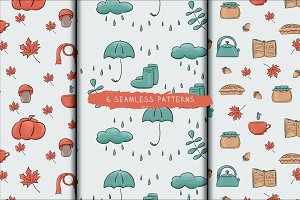 6 autumn patterns