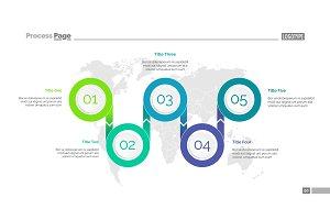 Five Options Logistics Slide Template