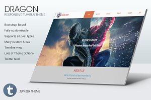 Dragon - Responsive Tumblr Theme