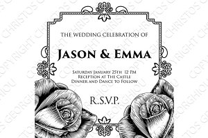 Wedding Invite Invitation Template