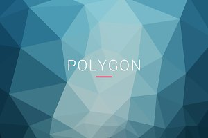 40 Polygon Backgrounds + 2 Free