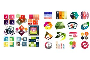 Vector geometric templates