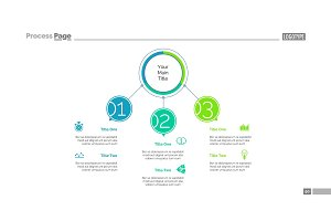 Three Points Workflow Slide Template