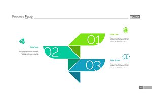 Three Steps Process Slide Template