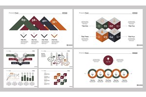 Seven Production Slide Templates Set