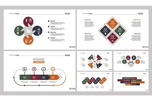 Seven Teamwork Slide Templates Set