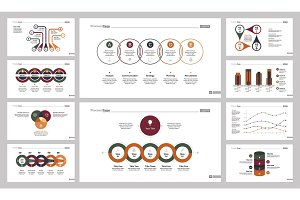 Ten Accounting Slide Templates Set