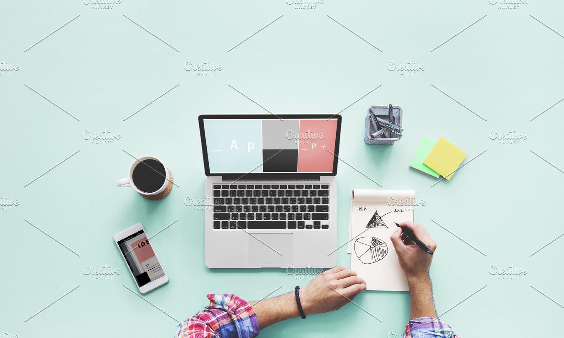 save  computer laptop drawing working