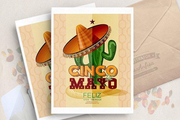 Cinco De Mayo Vector Poster