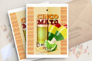 Cinco de Mayo vector poster