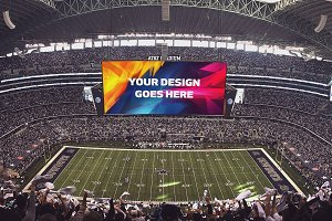 NFL Stadium Display Mock-up #10
