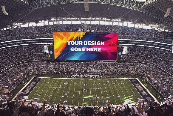 NFL Stadium Display Mock-up #10