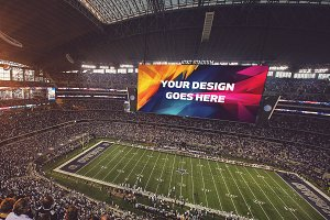 NFL Stadium Display Mock-up #11