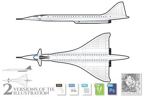 Supersonic transport aircraft