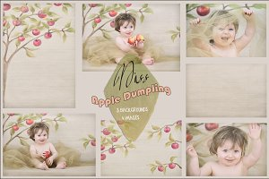 """Miss Apple Dumpling"" photo set"