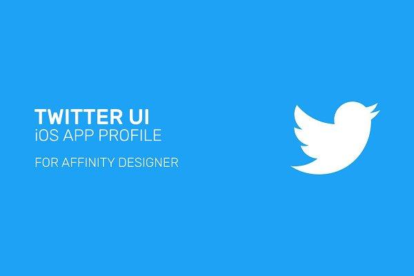 Twitter Templates: AR DESIGN - Twitter App UI