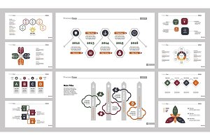Ten Planning Slide Templates Set