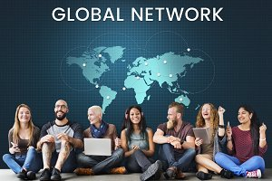 Global network communication