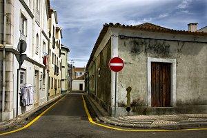urban street in portugal