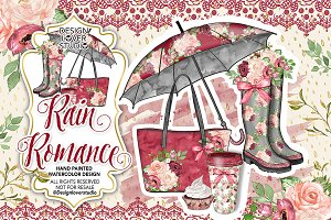 Rain Romance design