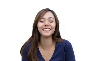 Asian lady model