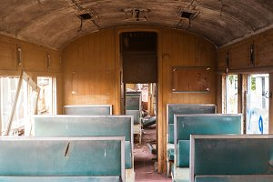 old bogie train