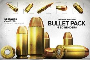 3D Bullet Renders Pack
