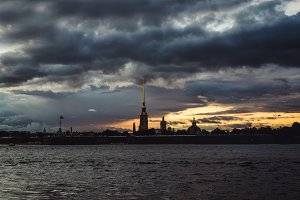 Neva to St. Petersburg