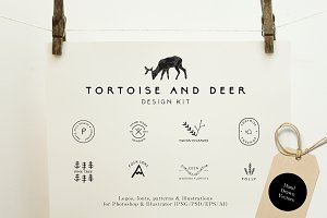Tortoise and Deer Design Kit