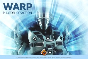 Warp - Photoshop Action