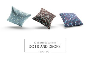 Dots and drops patterns