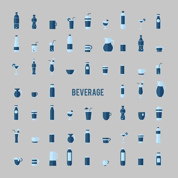 Illustration of beverages