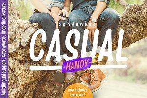 Handy Casual Condensed (25%off)