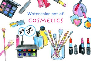 Makeup & Cosmetics clip art
