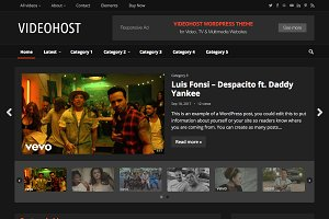 VideoHost - WordPress Video Theme