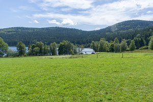 The Schluchsee lake