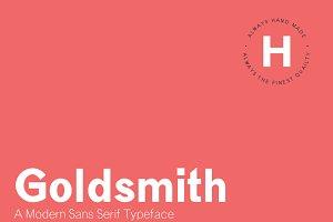 Goldsmith - A Modern Sans Serif