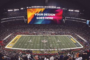 NFL Stadium Display Mock-up #15