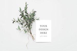 Eucalyptus Stationery Mockup