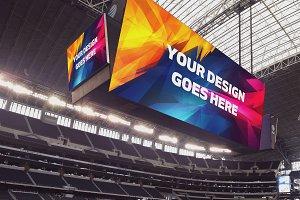 NFL Stadium Display Mock-up Pack #1