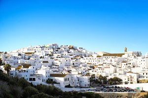 White Town in Spain