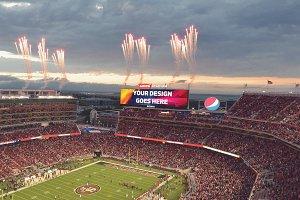 NFL Stadium Display Mock-up Pack #2