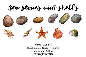 Sea Stones and Shells
