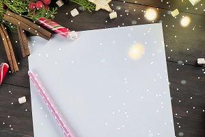 Christmas letter fos Santa