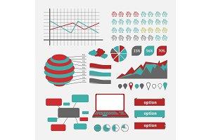 Vector Infographics chart