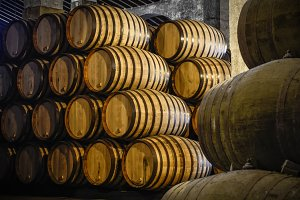 Whiskey or wine cellar