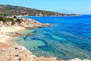 Sea coast (Halkidiki, Greece).