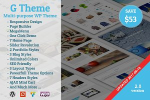 G Theme - Multi-purpose WP Theme