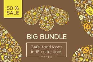 Big Bundle of Food Icons